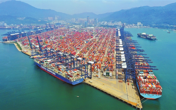 Частичное закрытие порта Яньтянь 2021 — Авангард Директ