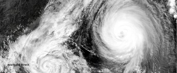 Тайфун в Китае - порты закрыты, пожары в Канаде - заторы — Авангард Директ