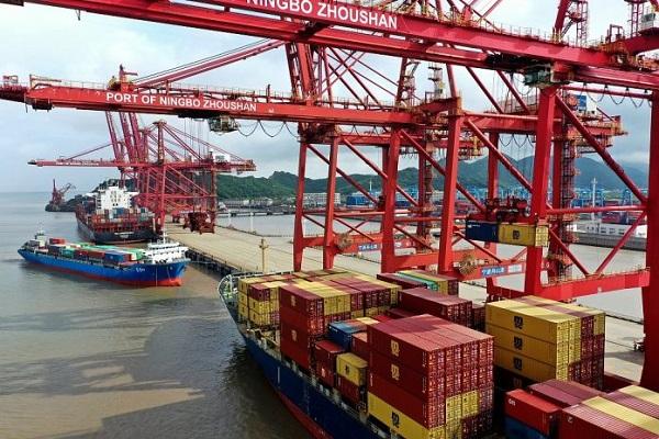 Порт Нинбо частично закрыли в августе 2021 года — Авангард Директ